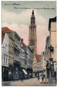 GroenkerkhofOudekoornmarkt1913prent